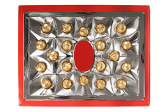 A box of luxury chocolates Royalty Free Stock Image