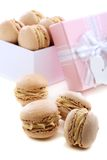 Box of macaroons. Stock Photography