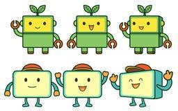 Box Mascot Stock Images