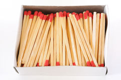 Box of Match Stick Royalty Free Stock Images
