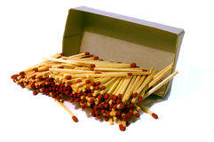 Box of Matches Stock Photos