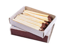 Box of matches Royalty Free Stock Images