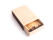 Box of matches Stock Images
