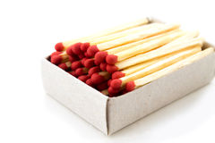 Box of matches royalty free stock photos