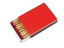 Box of matches Royalty Free Stock Image