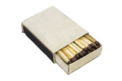 Box of matches Royalty Free Stock Photography