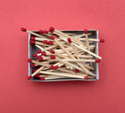 A box of matches Stock Photos