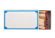Box of matches. Royalty Free Stock Images