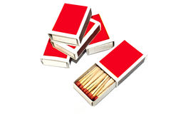 Box of Matches Stock Image