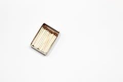 A box of matches. Stock Photos