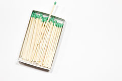 A box of matches. Royalty Free Stock Photography