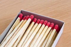 A box of matches. Royalty Free Stock Images