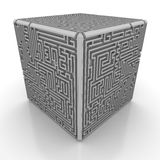 Box maze Stock Photography