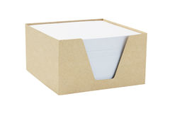 Box Of Memo Papers Royalty Free Stock Image