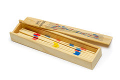Box with mikado Royalty Free Stock Photo