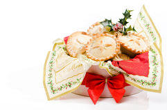 Box Of Mince Pies Stock Photography