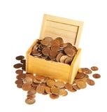 Box of money Stock Photo