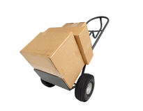 Box on the Move Stock Images