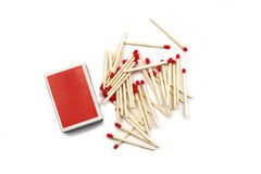 Free Box Of Matches Stock Image - 12859571