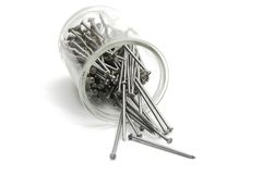 Free Box Of Nails Stock Images - 131614