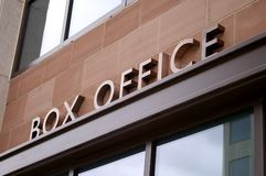 Box Office Royalty Free Stock Image