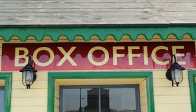 Box office Royalty Free Stock Images