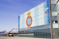 Box office of RCD Espanyol stadium Royalty Free Stock Photography