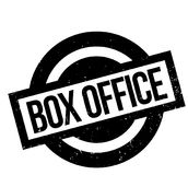 Box Office rubber stamp. Grunge design with dust scratches. Effects can be easily removed for a clean, crisp look. Color is easily changed Royalty Free Stock Image