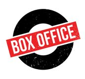 Box Office rubber stamp. Grunge design with dust scratches. Effects can be easily removed for a clean, crisp look. Color is easily changed Stock Photos