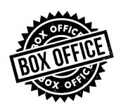 Box Office rubber stamp. Grunge design with dust scratches. Effects can be easily removed for a clean, crisp look. Color is easily changed Stock Images