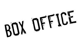 Box Office rubber stamp. Grunge design with dust scratches. Effects can be easily removed for a clean, crisp look. Color is easily changed Royalty Free Stock Images
