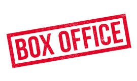 Box Office rubber stamp Royalty Free Stock Photos