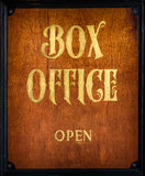 Box Office Sign Royalty Free Stock Photography