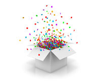 box open Royalty Free Stock Photography