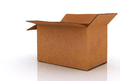 Box opened Stock Photography
