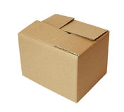 Box package cardbord Stock Photos