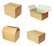 Box package cardbord Stock Photography