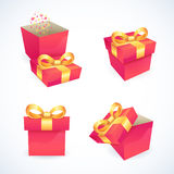 Box and package icons Stock Images