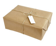 Box package wrap Royalty Free Stock Images
