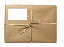 Box package wrap Stock Image