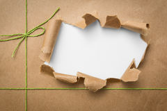 Box package wrap Royalty Free Stock Image