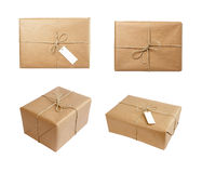 Box package wrap group Stock Images
