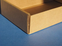 Box packet parcel Stock Images