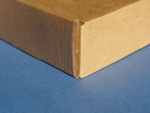 Box packet parcel Stock Photo