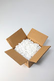 Box with packing form stock photography