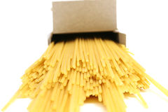 Box of pasta Stock Images