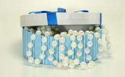Box of Pearls Royalty Free Stock Photos