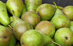 Box of Pears Stock Photo