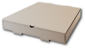 Box for pizza. Stock Image