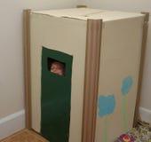 Box playhouse Royalty Free Stock Photography
